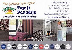 Meer informatie op het bedrijfsprofiel!Tapijt Paradijs Oude Pekela