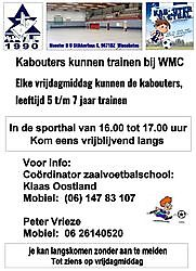 More information on the company profile!Zaalvoetbal Vereniging  (zvv WMC) Winschoten