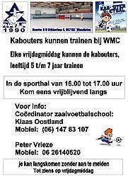 Weitere Informationen auf das Business Profil!Zaalvoetbal Vereniging  (zvv WMC) Winschoten