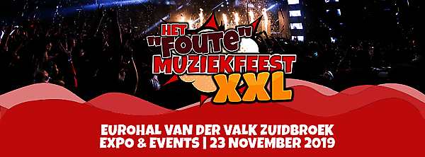Het foute muziekfeest XXL Zuidbroek