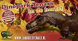 ToerismeOktoberactie Dinopark Landgoed Tenaxx Wedde