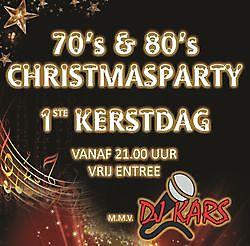Toerisme70's & 80's Christmas Party! Winschoten