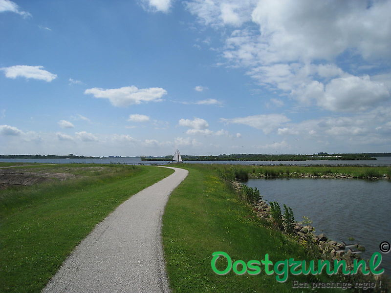 Prachtge fietsroutes rond het Oldambtmeer Blauwestad