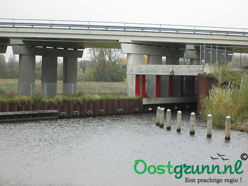 Tunnel vaarverbinding Winschoten