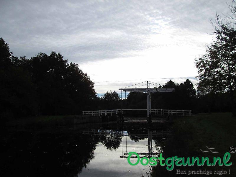 Brug bij de Natuurgebied Borgerswold Veendam