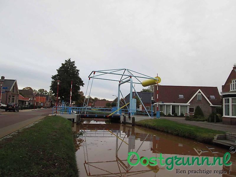 Brug Ommelanderweg Nieuwe Pekela