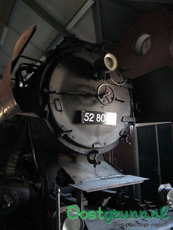 Locomotief Museumspoorlijn STAR Stadskanaal
