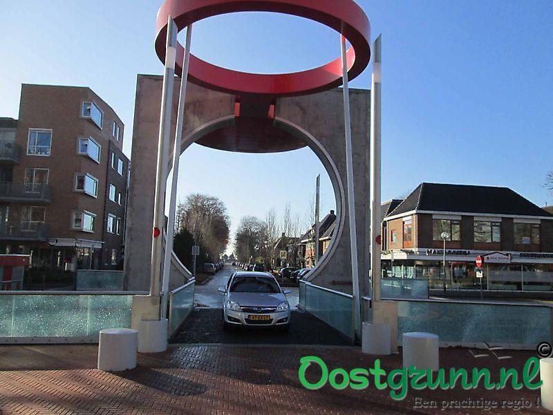 Nieuwe brug stationslaan Stadskanaal