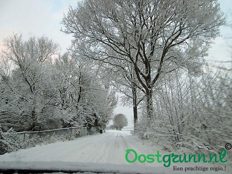 Sneeuw Oude Pekela