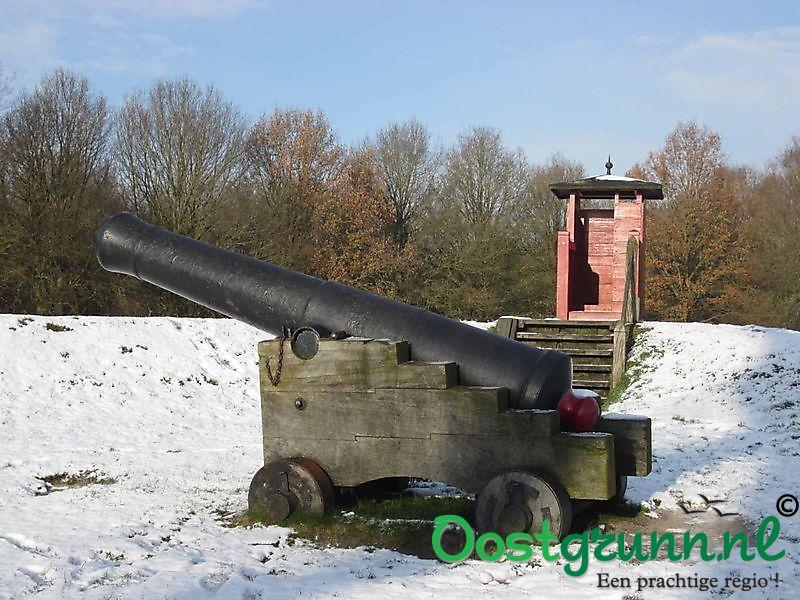 Kanonnen van Vesting Bourtange Bourtange