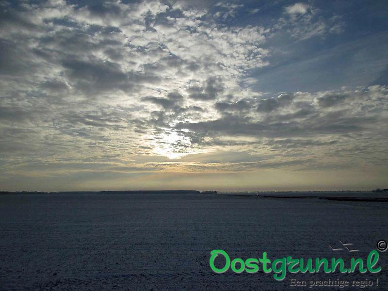 Winterzonnetje over de akkers Bad Nieuweschans