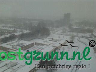 Stadskanaal onder sneeuw! Stadskanaal