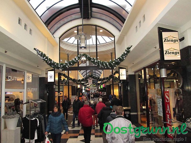 Overdekt Winkelcentrum Promenade Veendam