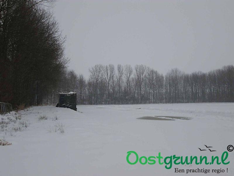 IJsbaan heeft te lijden onder de sneeuw Beerta