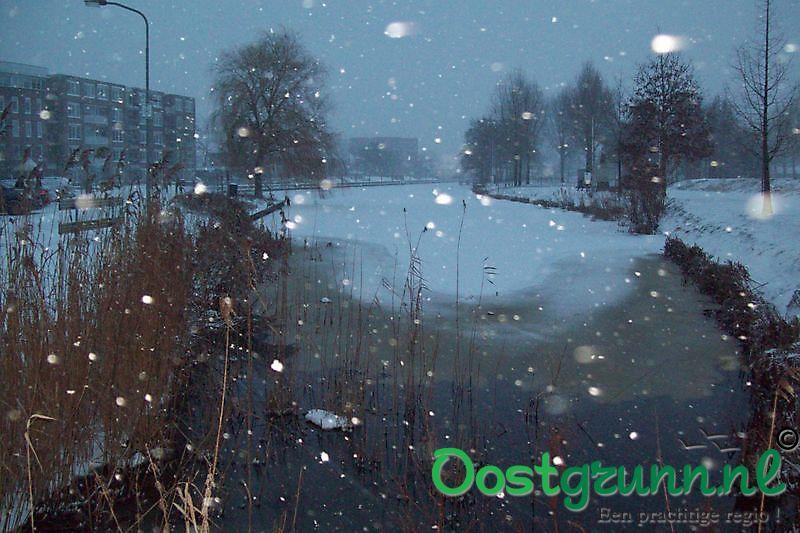 winters te Musselkanaal Musselkanaal