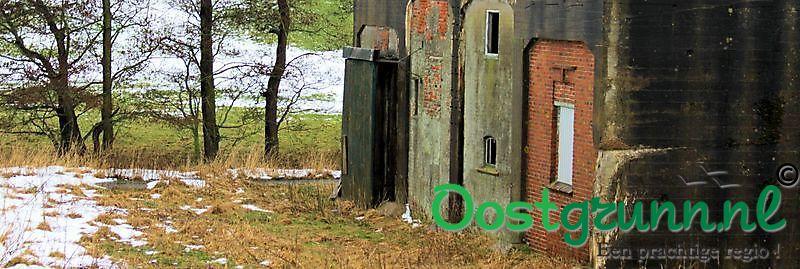 Bunkers bij de punt van Reide Goldhoorn