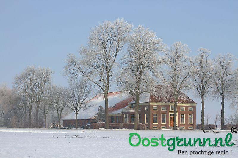 winter in Oostwold Oostwold