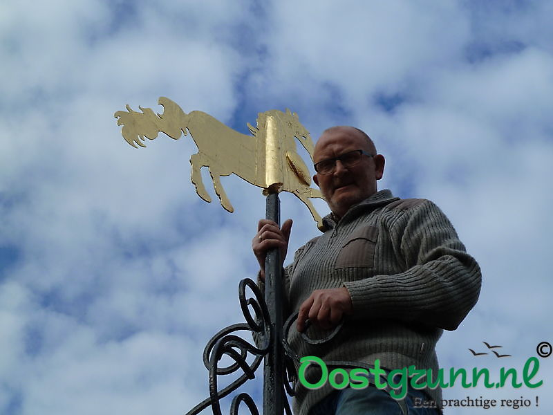 paard op de toren Bellingwolde