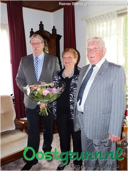 Echtpaar Zinning uit Bellingwolde 60 jaar getrouwd Bellingwolde