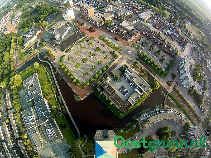 Boven de Potloodflat Stadskanaal