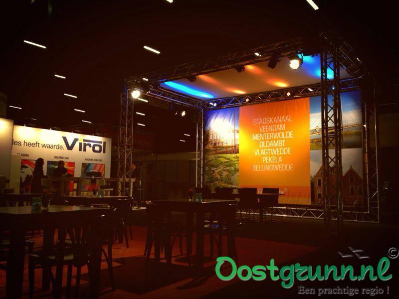 Beurs stand - Oost Groningen Stadskanaal