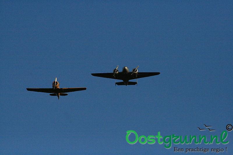Herdenking bemanningsleden van neergestorte Lancaster 23 november Ter Apel