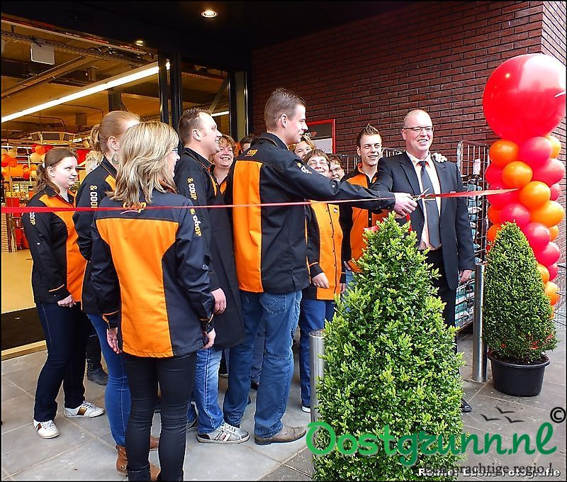 Opening Nieuwe Coop Bellingwolde