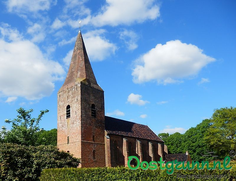 Nicolaaskerk met juffertoren Onstwedde