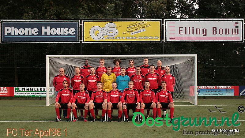 Team foto FC Ter Apel'96 Zon 1 Ter Apel
