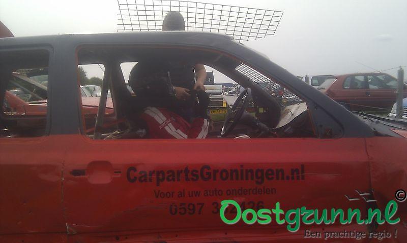 Carparts Groningen sponsort Cross auto's Finsterwolde