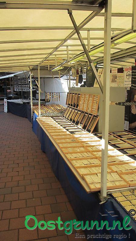Marktkraam Juwelier Kluiter markt Stadskanaal Stadskanaal
