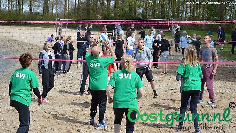 Strandvolleybal toernooi Bellingwolde