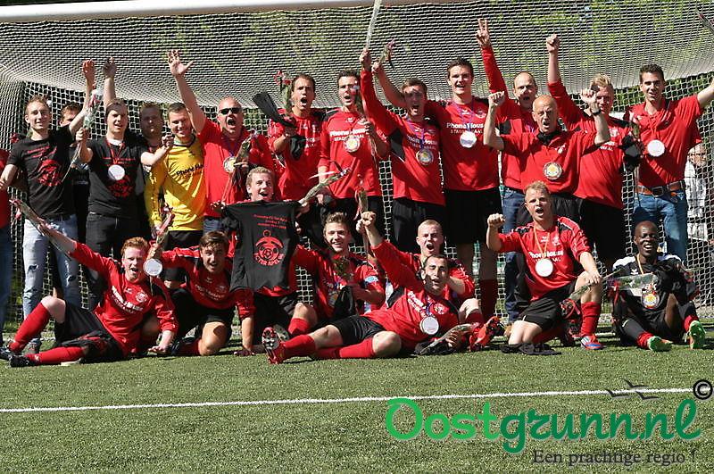 FC Ter Apel'96 1 terug in de 3 klasse Ter Apel