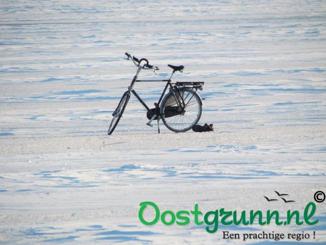 De eenzame fietser Morige