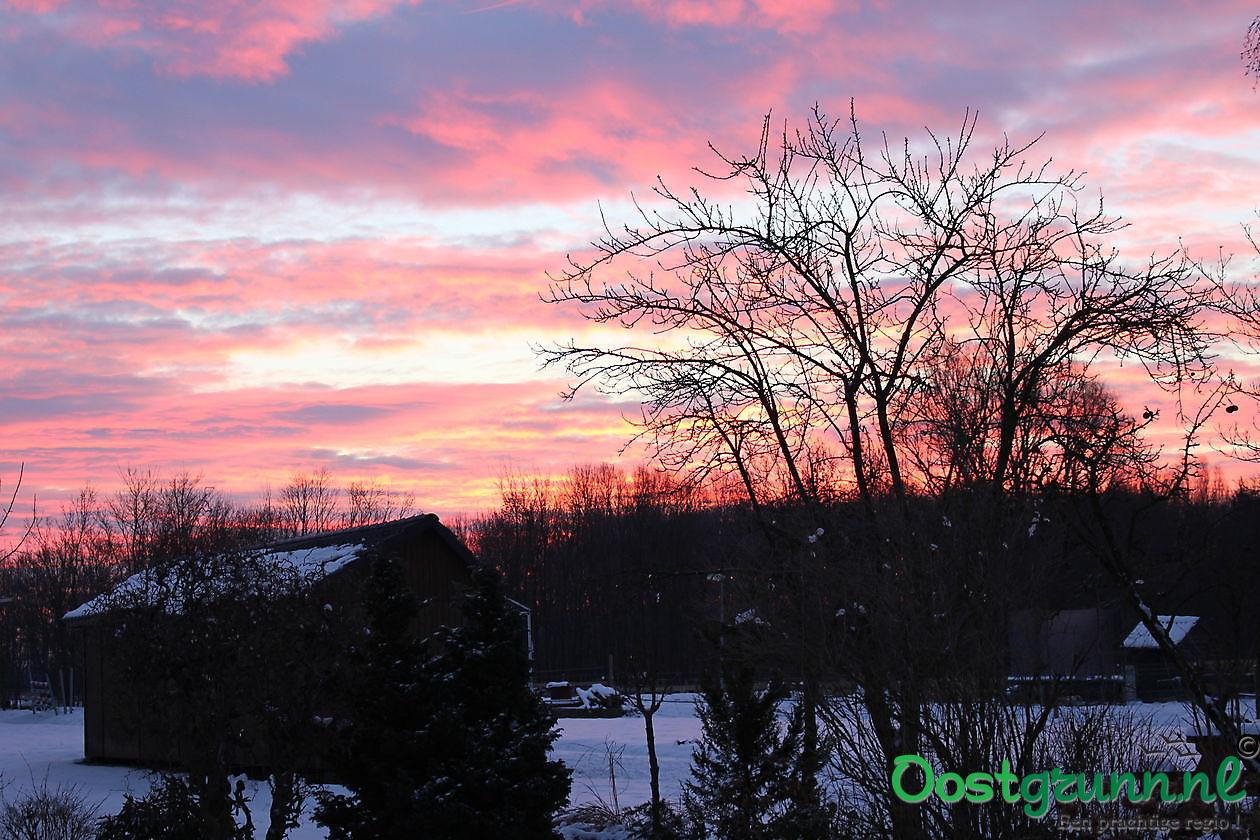 morgenrood Finsterwolde
