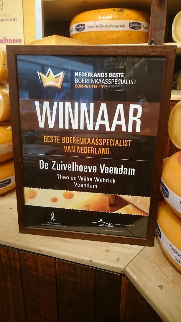 Winnaar Nederlands Beste Boerenkaaspecialist (De Zuivelhoeve Veendam) Veendam