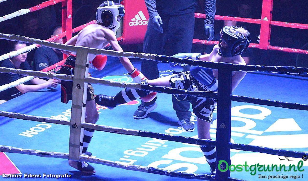 1e kickboxgala in Bellingwolde Bellingwolde