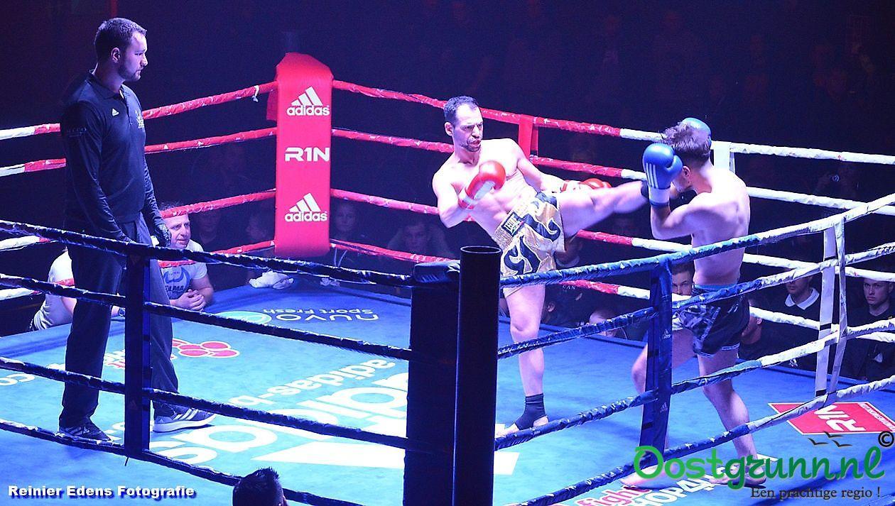 1e kickboxgala in Bellingwolde Bellingwolde