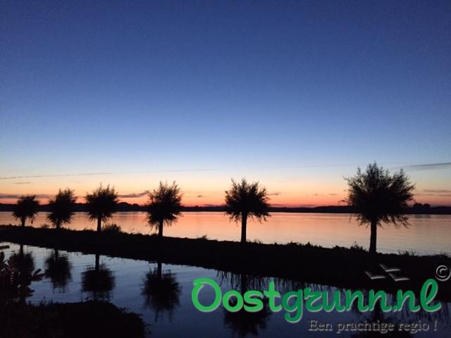 Zonsondergang Oldambtmeer Blauwestad