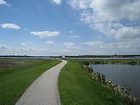 Prachtge fietsroutes rond het Oldambtmeer Blauwestad, Oldambt
