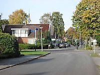 Kruispunt bij de kerk Mussel, Stadskanaal
