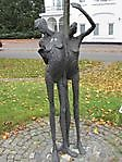 Kunstwerk ter nagedachtenis aan de deportatie Zuidbroek, Midden-Groningen