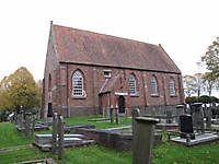 Bakstenen zaalkerk Meeden, Midden-Groningen