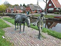 Scheepsjager bij de sluizen Bareveld, Veendam