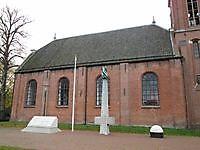Oorlogsmonument bij de kerk Veendam, Veendam
