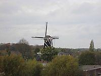 Uitzicht op molen Berg Winschoten, Oldambt