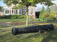 Kanon bij de Zuideinde Bad Nieuweschans, Oldambt