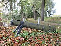 Kanon bij de Molenweg Oudeschans, Oldambt