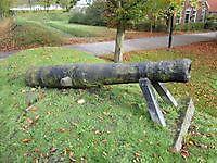 Kanon op de vestingwal Oudeschans, Oldambt