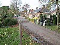 Wandelroute over de vestingwal Oudeschans, Oldambt